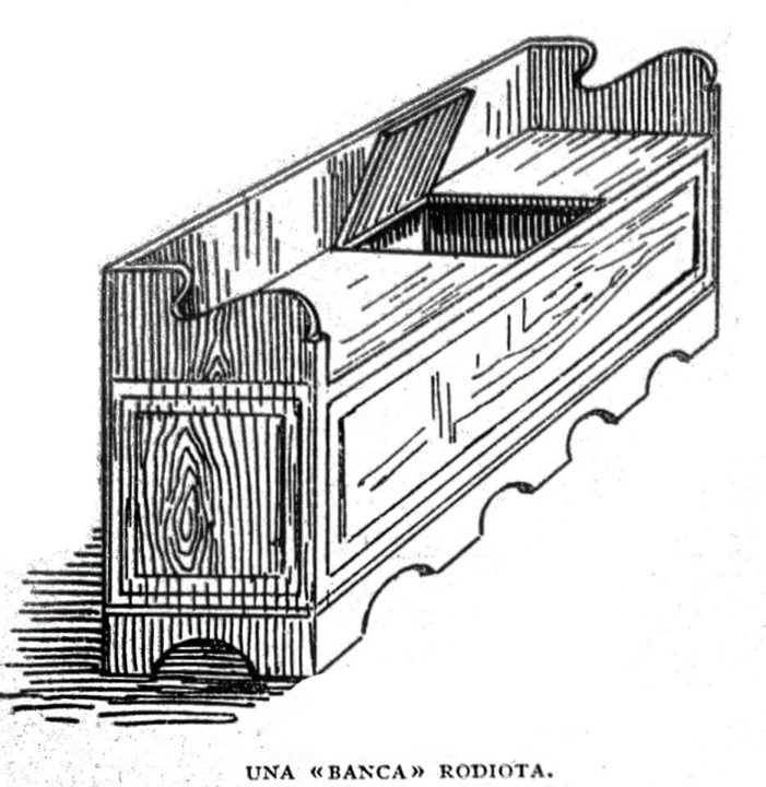 A design of a traditional buffet